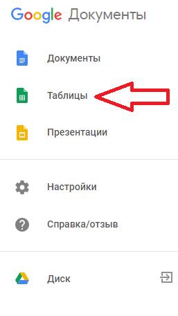 Как создать гугл таблицу онлайн