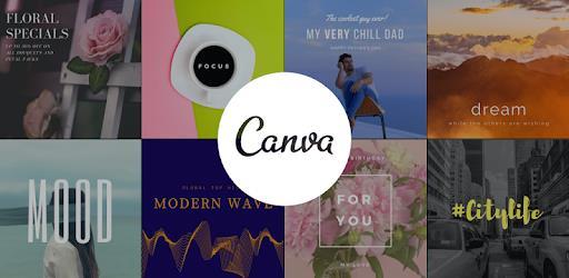 Canva - приложение для создания коллажей, баннеров и т.д.