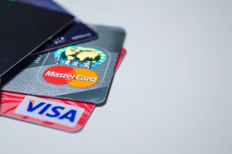 Платёжные системы Виза и Мастеркард